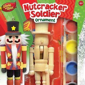 ✨✨Mini Nutcracker Solder Ornament Painting Kit✨✨